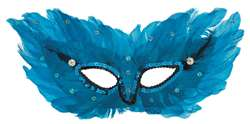 Venus Feather Mask | Halloween Party Supplies