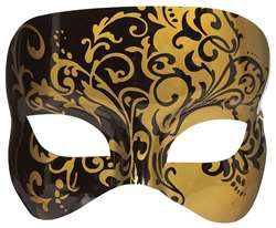 Gold Nights in Venice Mask | Halloween Party Supplies