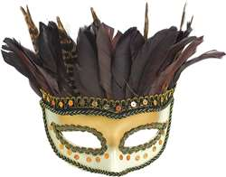 Owl Feather Mask | Party Supplies