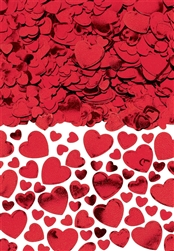 Hearts Confetti - Red | Valentines decorations