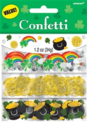 St. Patrick's Day Value Confetti | St. Patrick's Day Confetti