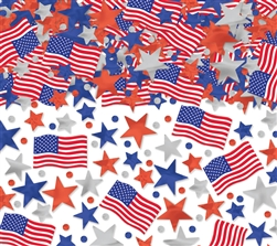 Patriotic Mega Value Pack Confetti | Party Supplies