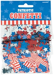 Patriotic Value Pack Confetti Mix | Party Supplies