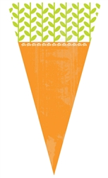 Carrot-Shaped Treat Bag | Easter Supplies