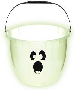 Glow-In-The-Dark Ghost Pail | Halloween Party Supplies
