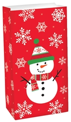 Snowman Treat Sack | Party Supplies