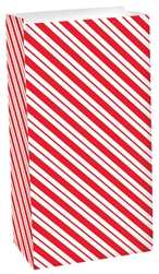 Candy Cane Treat Sack | Party Supplies