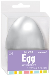 Silver Fillable Eggs | Party Supplies