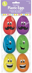 Large Funny Face Eggs | Party Supplies