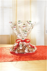 Snowman Cookie Tray Bags | Party Supplies