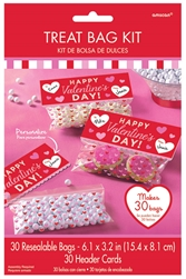 Valentine Treat Bag Kit | Party Supplies