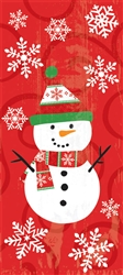 Snowman Large Cello Party Bags | Party Supplies