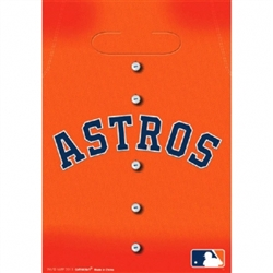 Houston Astros Loot Bags | Party Supplies