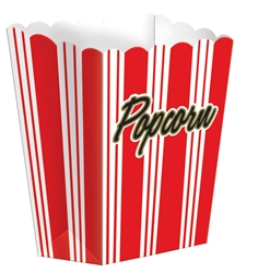Large Popcorn Boxes | Party Supplies