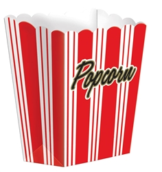 Small Popcorn Boxes | Party Supplies