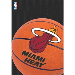 Miami Heat Loot Bag | Party Supplies
