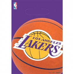 LA Lakers Loot Bags | Party Supplies