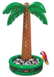 Jumbo Palm Tree Inflatable Cooler | Summer Cooler