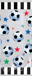 Soccer Fan Cello Party Bags | Party Supplies