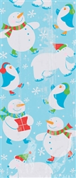 Polar Pals Large Cello Party Bags | Party Supplies