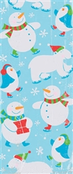 Polar Pals Small Cello Party Bags | Party Supplies