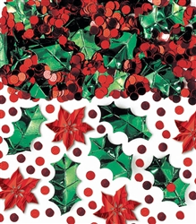 Christmas Botanical Confetti Mix | Party Supplies