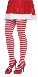 Candy Stripe Tights - Adult | Party Supplies