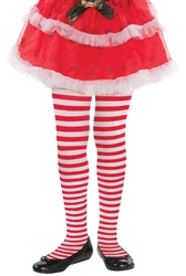 Candy Stripe Tights - Child | Party Supplies