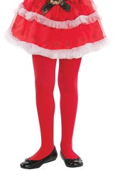 Red Tights - Child | Party Supplies