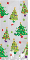 Tree Large Cello Party Bags | Party Supplies