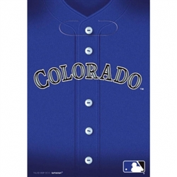 Colorado Rockies Loot Bags | Party Supplies