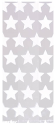 Star White Small Cello Party Bags | Party Supplies