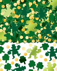 Green Shamrocks Big Pack Confetti | St. Patrick's Day Confetti