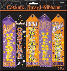 Costume Award Ribbon Multi-Pack