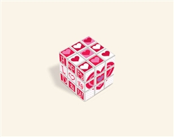 Valentine Puzzle Cube | Valentines Day Puzzle