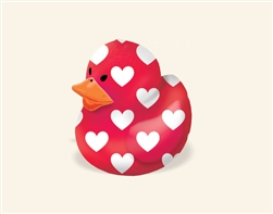 Valentine Rubber Duck | Valentine Ducks