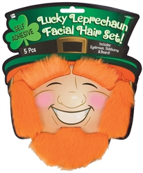 St. Patrick's Day Novelty Facial Hair Set | St. Patrick's Day Facial Hair