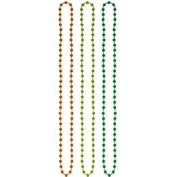 St. Patrick's Day Disco Ball Bead Necklace Pack | Party decorations