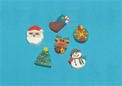 Holiday Fun Erasers | Party Supplies