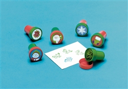 Christmas Plastic Stamper Set | Party Supplies