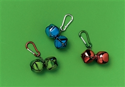Jingle Bell Backpack Clip | Party Supplies