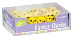 Small Chenille Chicks | Party Supplies