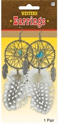 Native American Earrings | Party Supplies