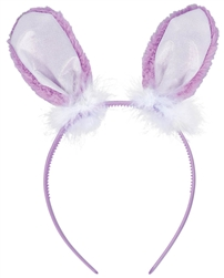 Purple Value Bunny Ears | Party Supplies