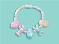 Pastel Egg & Bunny Bracelet | Party Supplies