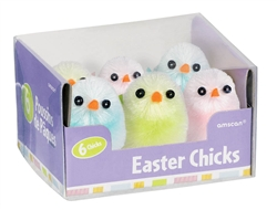 Medium Chenille Chicks Multicolor | Party Supplies