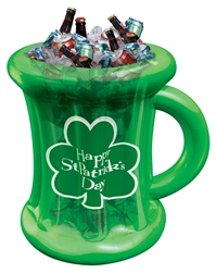 Beer Mug Inflatable Cooler | St. Patrick's Day Cooler