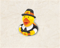 Thanksgiving Pilgrim Rubber Ducky Favor | Party Supplies
