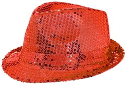 Sequined Fedora - Women's | Party Supplies