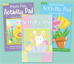 Easter/Springtime Fun Pad | Party Supplies